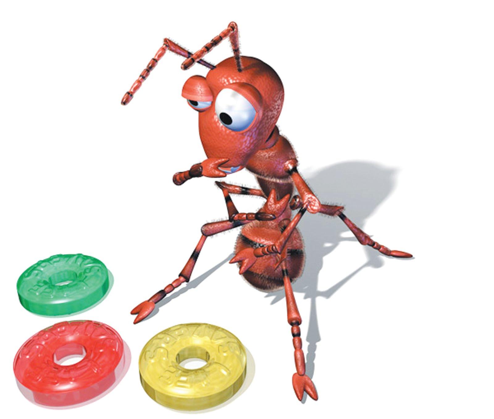 hormiga decidiendo