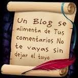 Un blog se alimenta de tus comentarios
