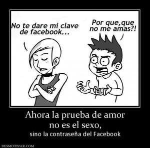 facebook y sexo