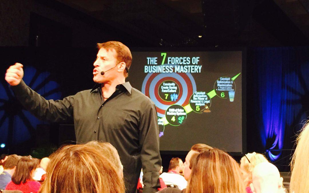 Tony Robbins: Business Mastery en Las Vegas agosto 2015