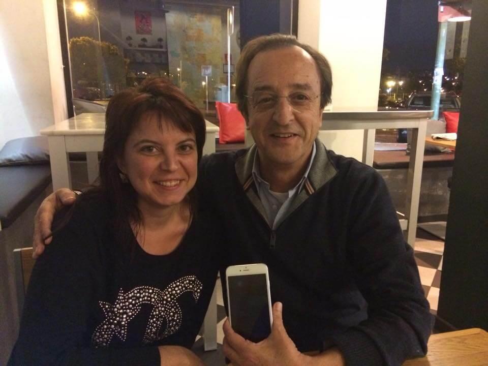 Juan Urrios y Susana Rodríguez Madrid 2015