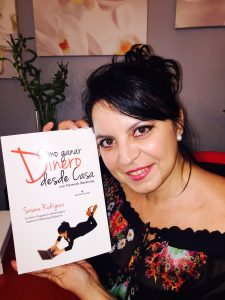 Susana Rodríguez es la autora del libro Cómo ganar dinero desde casa
