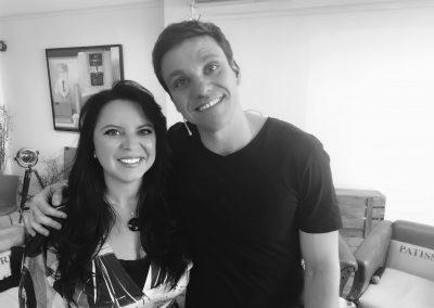 Erico Rocha y Susana Rodríguez
